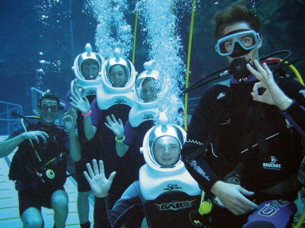 Sea Trek Benidorm, underwater things to do in Benidorm