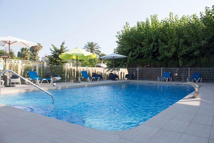 Camping piscina benidorm alicante