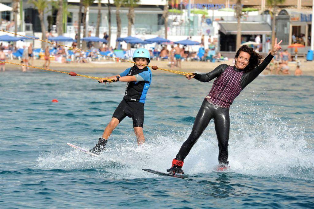 Water Ski, amazing thing to do in Benidorm