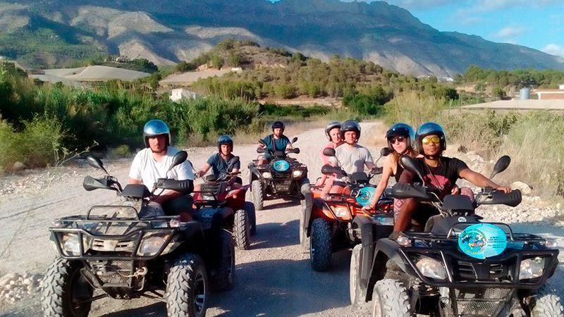 Excursion en quad ou en buggy à Benidorm