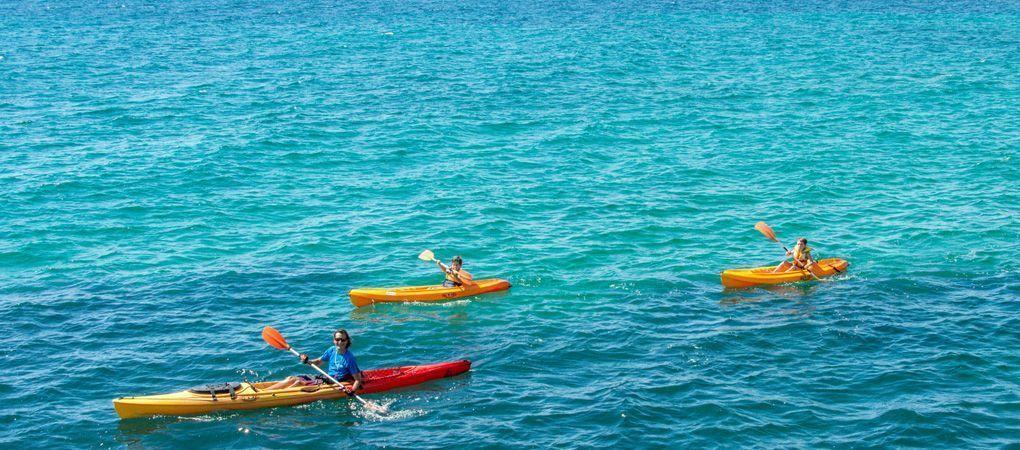 kayak for families in Benidorm