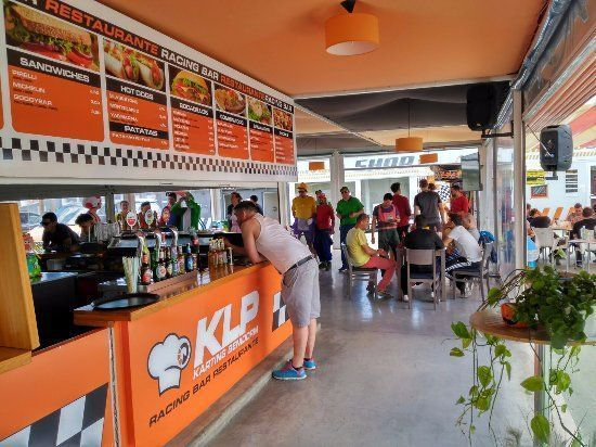 Bar restaurant karting à Benidorm