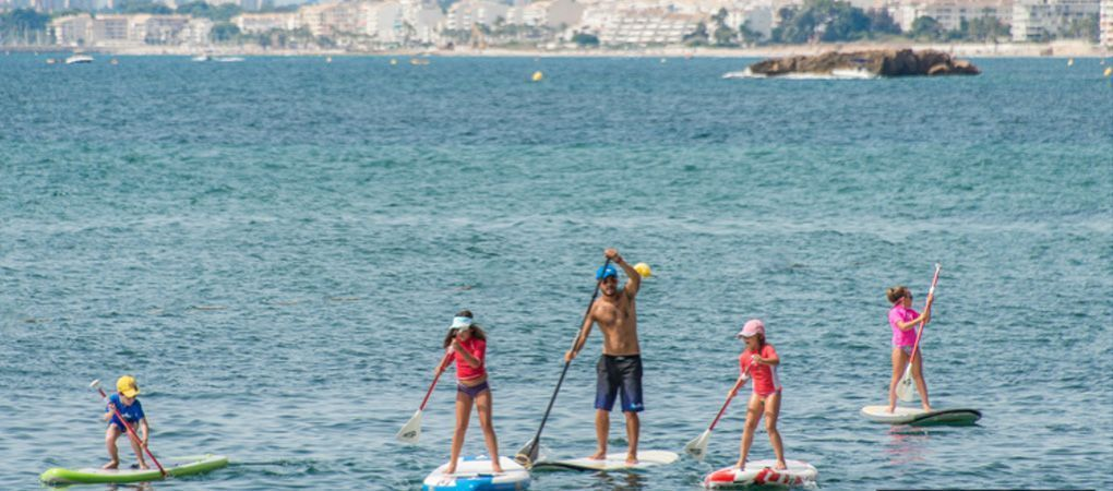 paddle surf and kayak lessons in Altea, near Benidorm