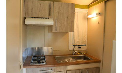 cocina cabaña Morea en Benidorm