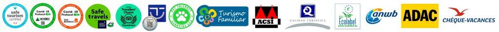 Campeggio a benidorm con certificati di qualità e premio tripadvisor