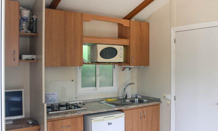 Cocina bungalow adaptado