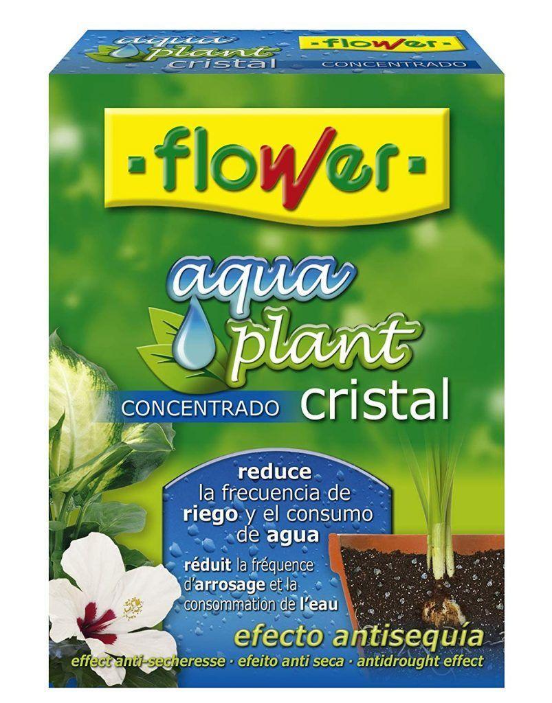 Agua gelificada para tus plantas cuando estas de viaje