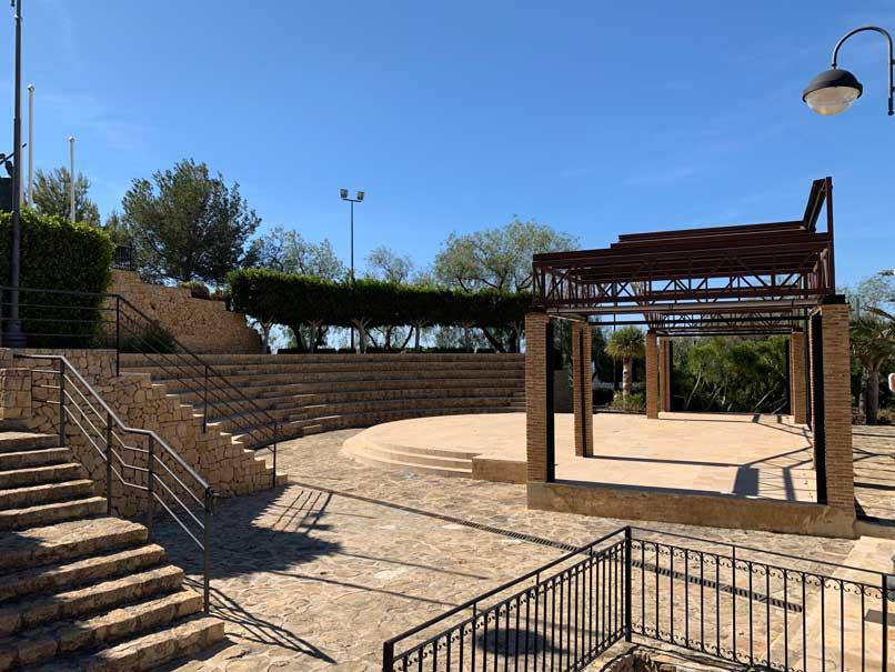 Auditorium finestrat pueblo
