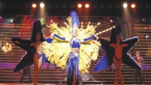 Dansers van de benidorm palace show