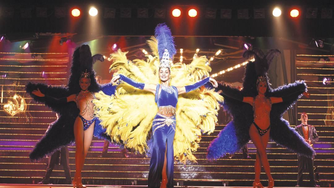 Dansere fra benidorm palace show