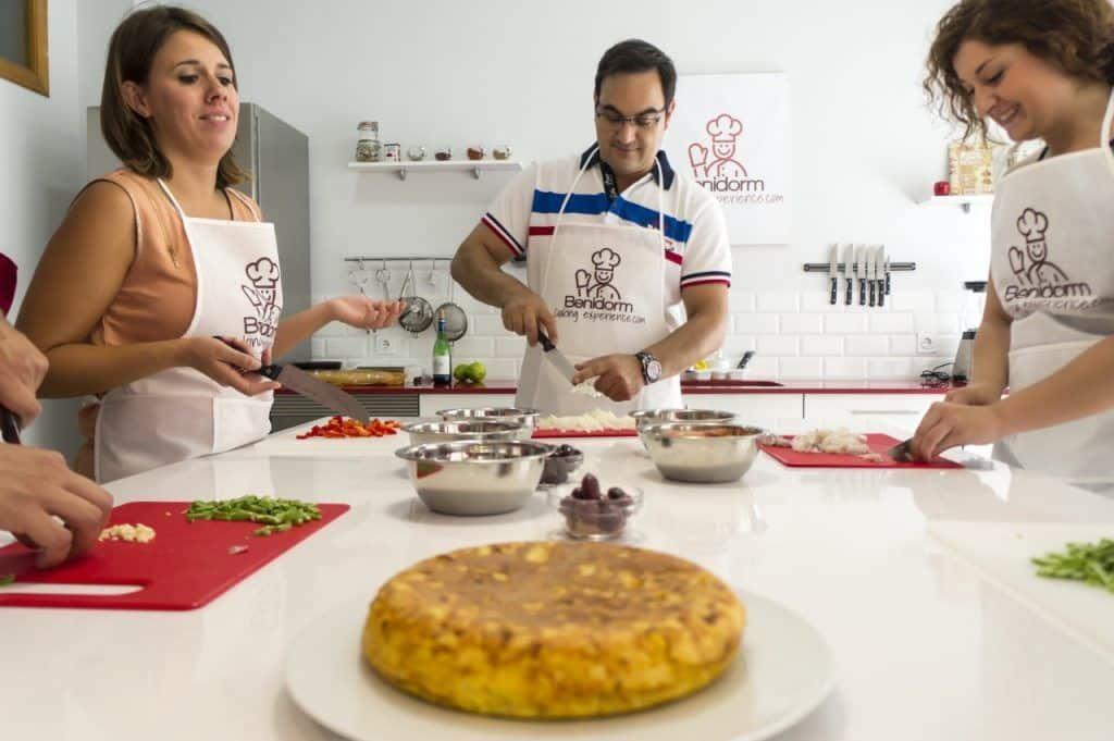 Benidorm cooking experience en pareja