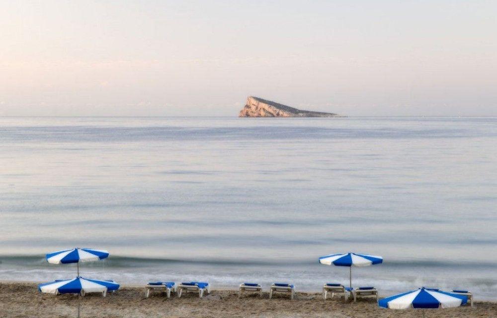 Benidorm playa isla