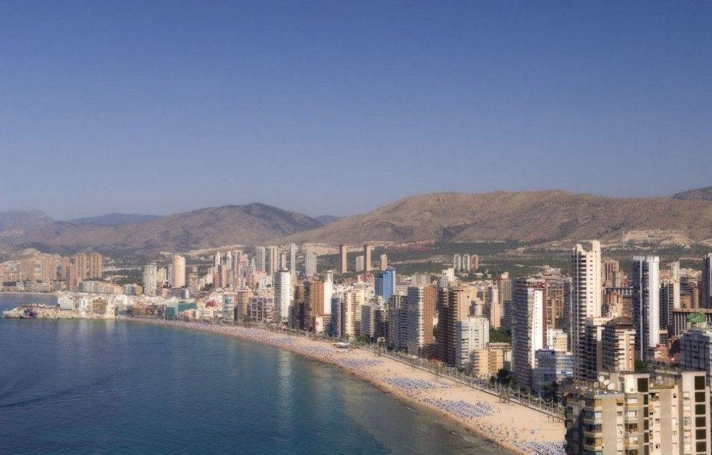 Levante-strand in benidorm