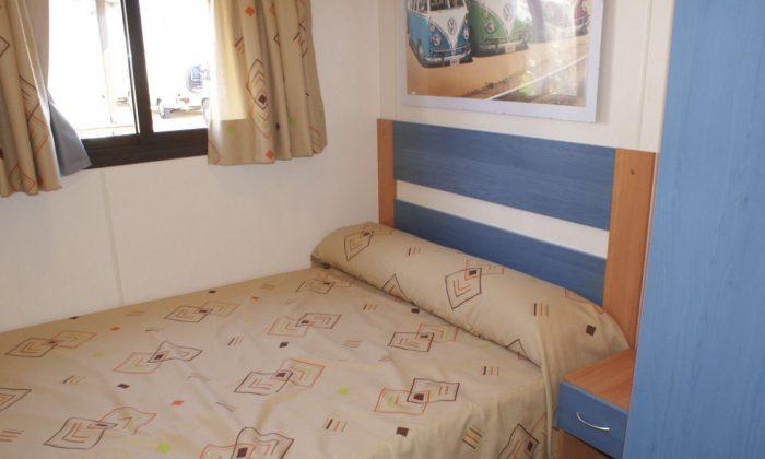 Dormitorio bungalow alucasa