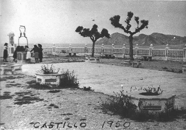 Castell de benidorm ano 1950