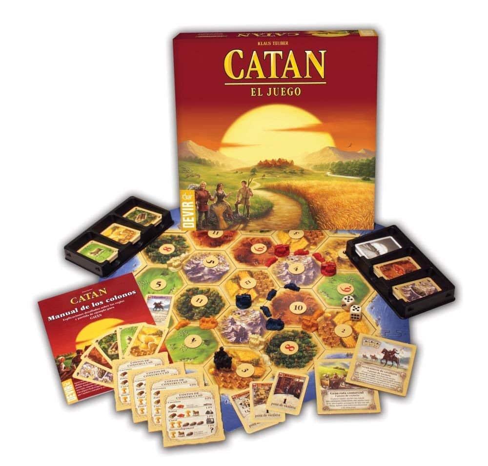 Imagen de colonos de catán, un juego para no aburrirse