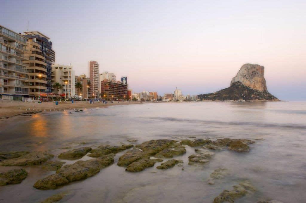 Calpes kyst og strand i alicante