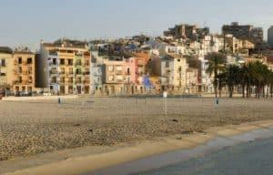 Spiaggia e campi da golf a villajoyosa