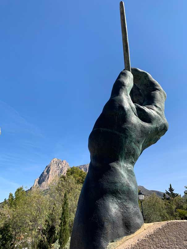 Statua in onore dei musicisti a finestrat