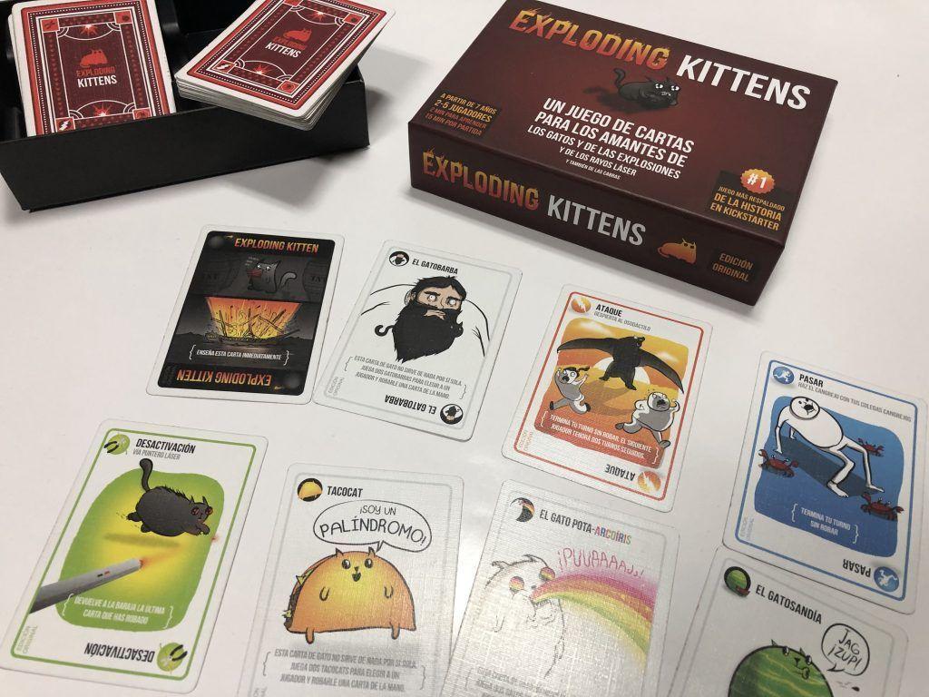 Exploding kittens, uno de los mejores juegos para no aburrirse en 2019