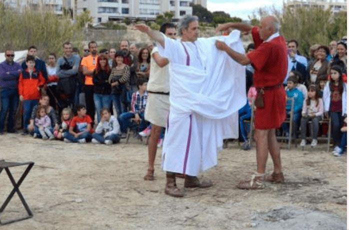Roman recreation villajoyosa
