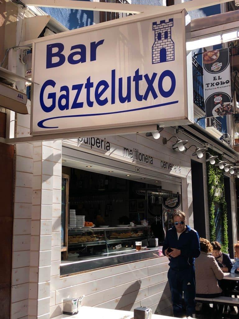 Gatzeluzko, bar in der baskischen gegend von benidorm