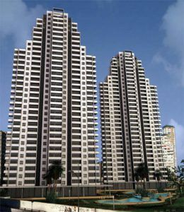 Zwillingsgebäude 26 1 und 2 in benidorm