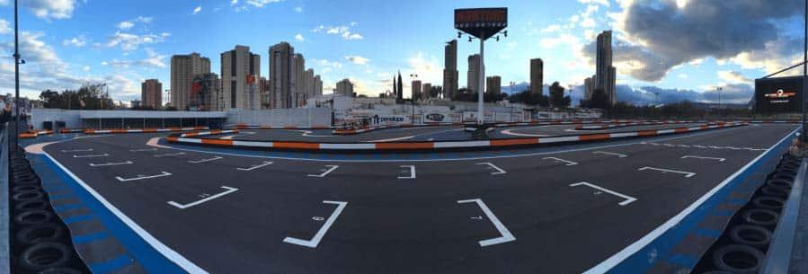 Benidorm karting circuit