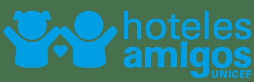 Logo dei campeggi e degli hotel dell'unicef