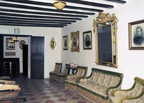 Interior casa orduna guadalest
