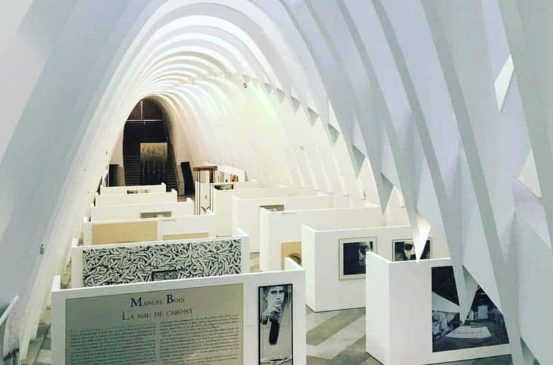 Sala de exposiciones llotja de sant jordi