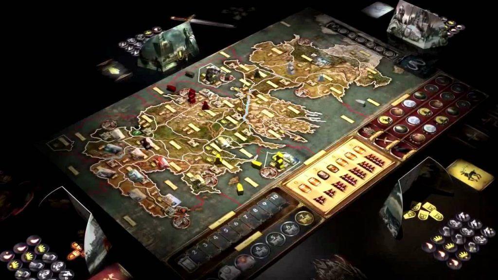 Imagen de tablero de juego de tronos, el juego de mesa para no aburrirse nunca