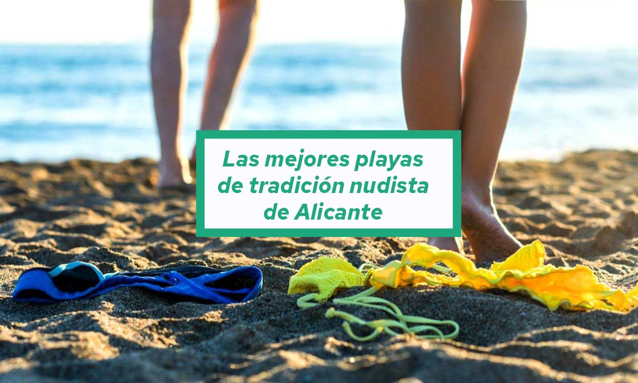 Liste des meilleures plages de tradition nudiste à alicante