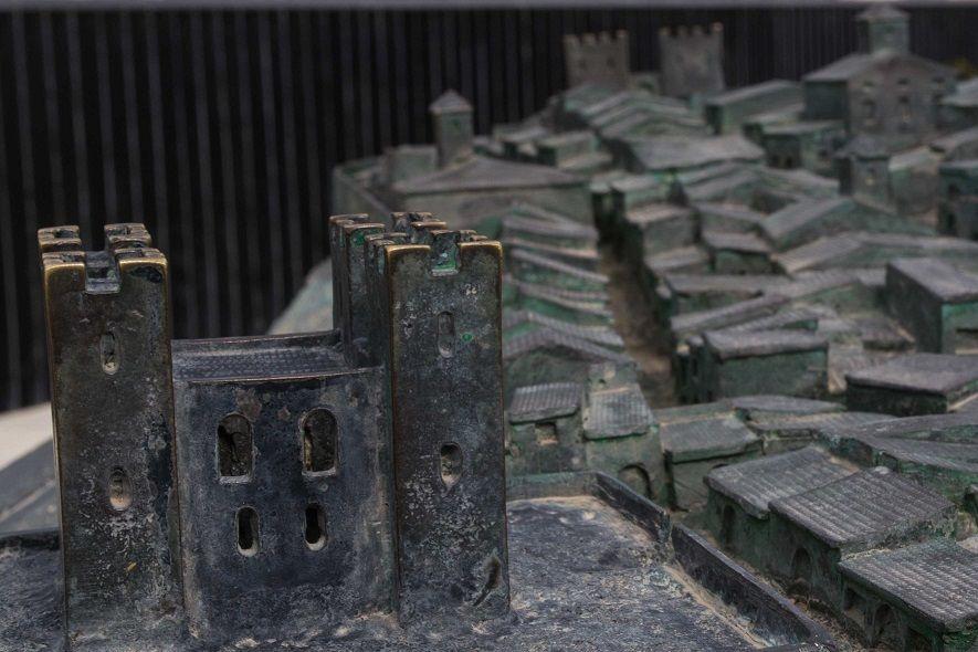 Maqueta del castell de la vila