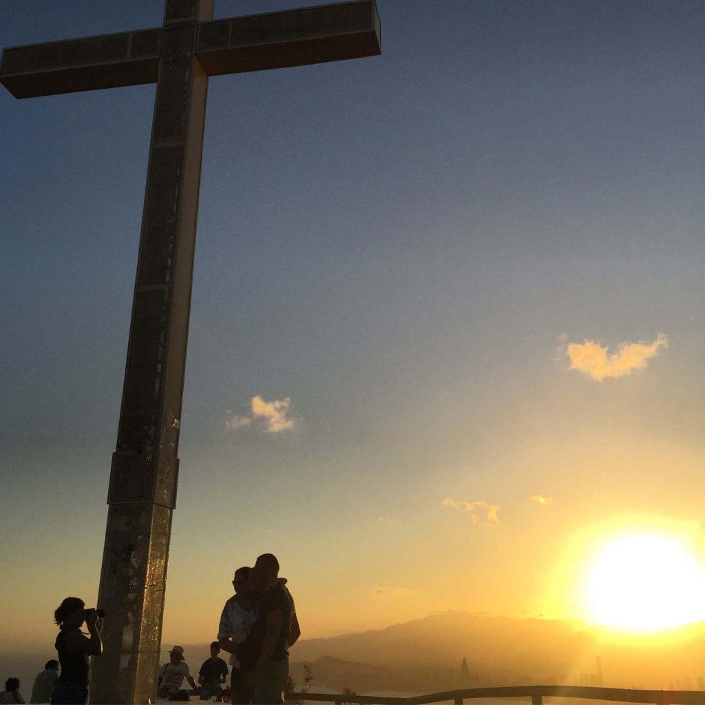Mirador creu cruz benidorm