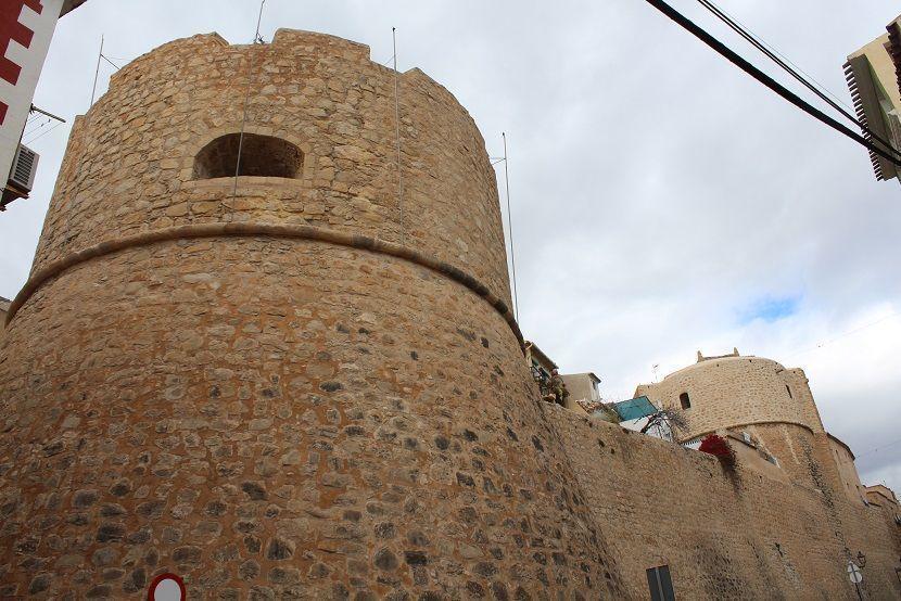 Wall of la vila joiosa