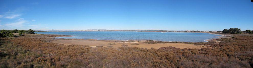 Foto panoramica della laguna di la mata