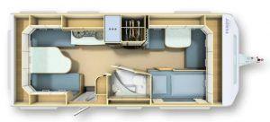 Plan for en campingvogn