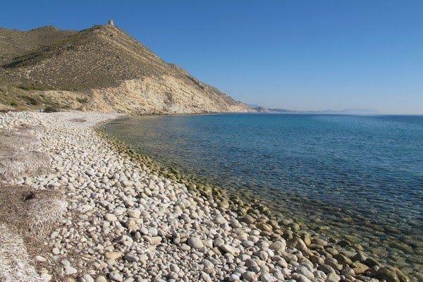 Playa del barranc daigues en el campello alicante 0 vista panoramica torre