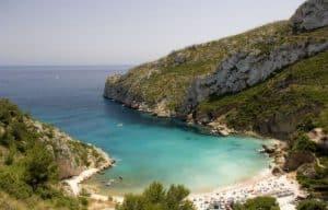 Spiagge a alicante: cala granadella
