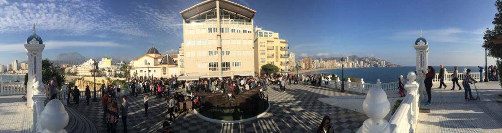Plaza santa ana canones benidorm 1