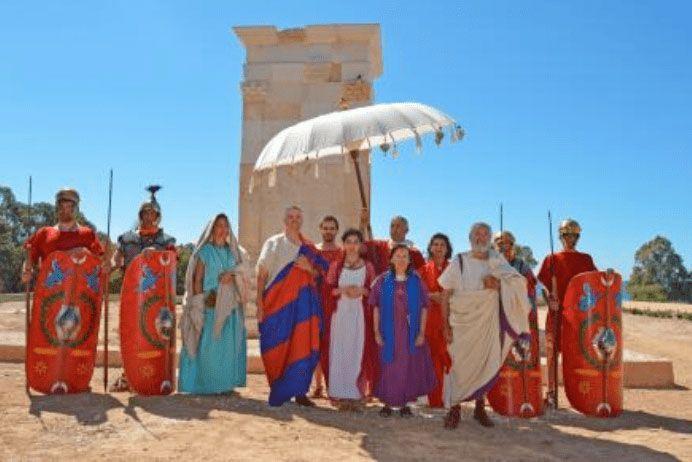 Recreation roman trial in festvm alonis villajoyosa