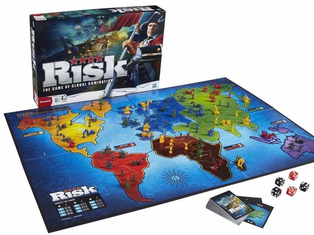 Risk, un juego de mesa para no aburrirse nunca