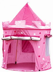 Castillo rosa para niños