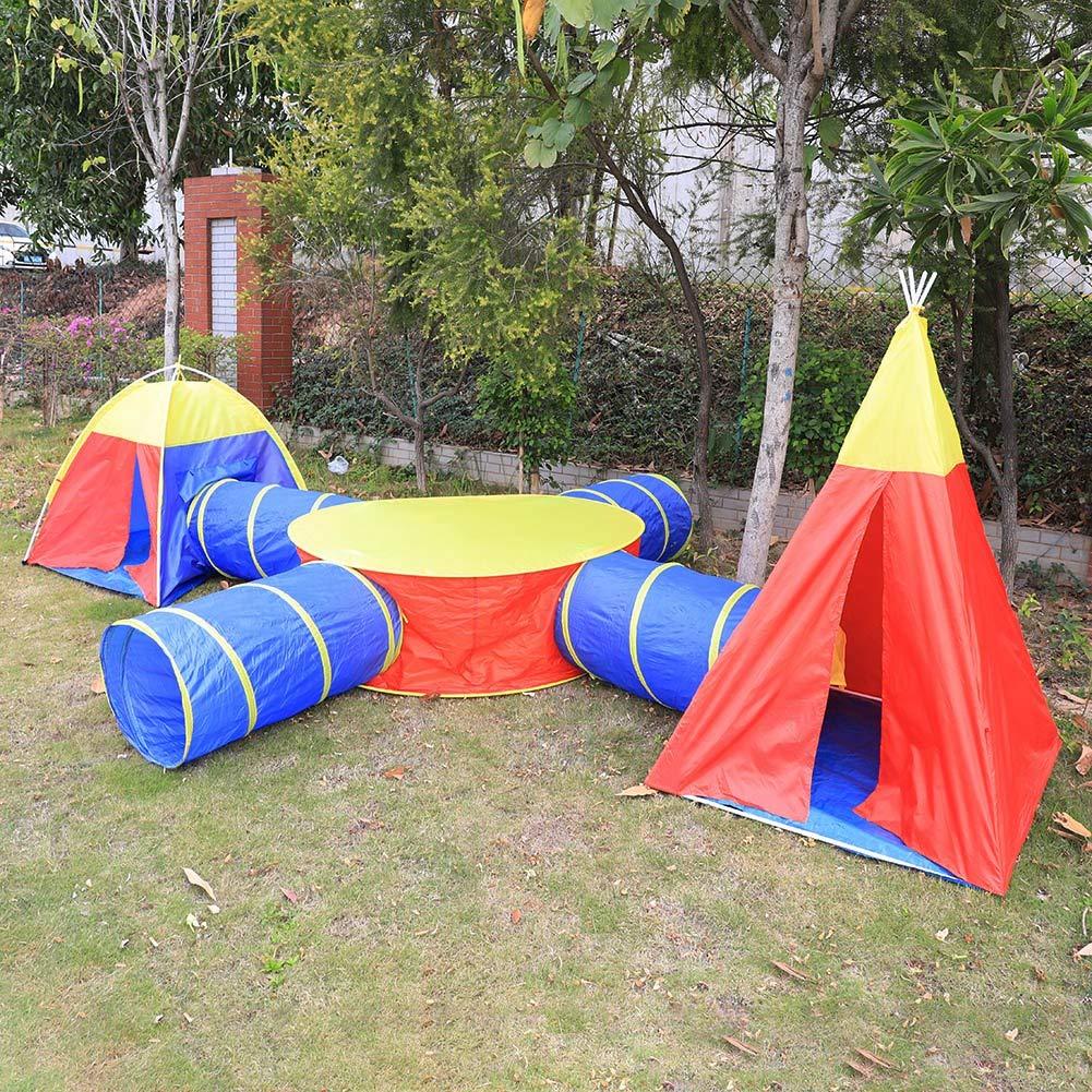 Tienda de campaña exterior para niños extra grande con tuneles