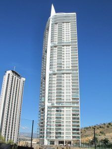 Tour lugano de benidorm, troisième plus haut gratte-ciel de benidorm