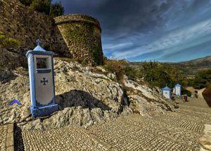 Stations of the cross til guadalest kirkegård