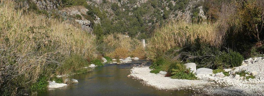 Ruta vía verde río serpis desde villalonga a lorcha