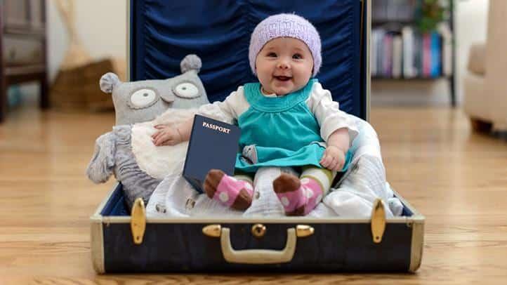 Kit de supervivencia para viajar con bebés
