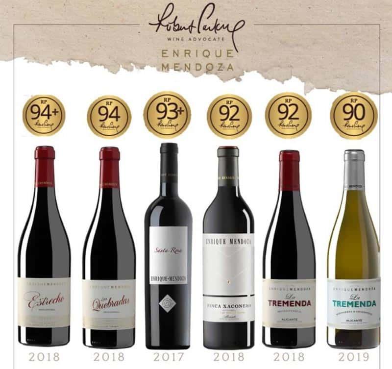 Mejores vinos enrique mendoza